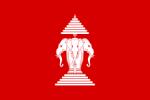 drapeau laos,laos,disque lunaire,mékong,indra,éléphant tricéphale