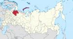mirny,ville fermée,arkhangelsk,oblast d'arkhangelsk,russie,fédération de russie,cosmodrome de plesetsk,urss,drapeau mirny,aurore boréale
